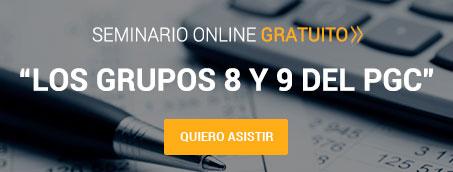 Seminario 'Los Grupos 8 y 9 del PGC'