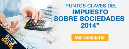 Seminario Impuesto Sociedades 2014