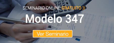 Seminario Modelo 347. Declaración Anual de Operaciones con Terceras Personas
