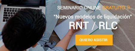 Seminario 'Nuevos modelos de liquidación' RNT / RLC