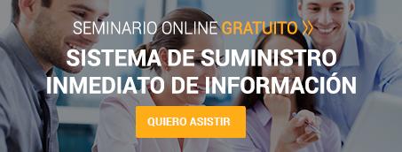 Seminario 'Sistema Suministro Inmediato Información (SII)'