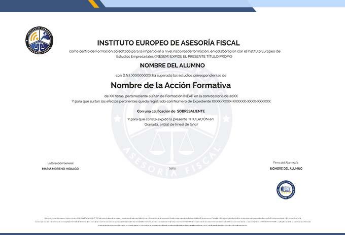 INSTITUTO EUROPEO DE ASESORÍA FISCAL S.L